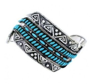 About the Turquoise Cuff Bracelet