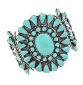 About the turquoise cuff