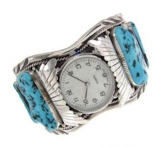 Turquoise Watch Cuff